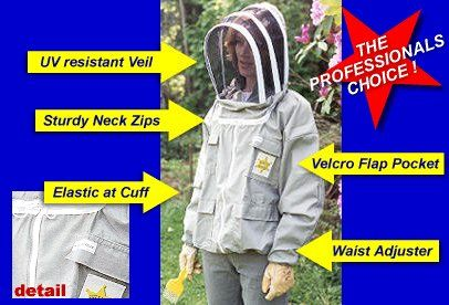 Protective Beekeepers Honey Rustler Jacket